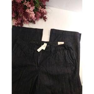 Talbots dark blue trouser jeans